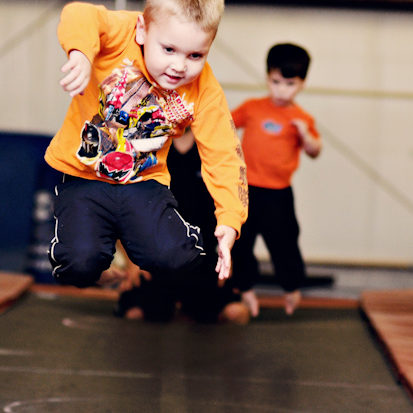 All Boys Classes - IGA - trampoline